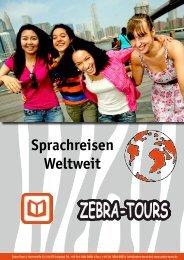 Sprachreisen Weltweit - Zebra-Tours