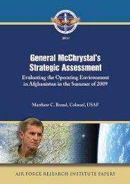 General McChrystal's Strategic Assessment