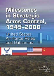 Milestones in Strategic Arms Control 1945–2000