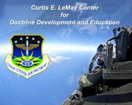 Curtis E LeMay Center for Doctrine Development and Education