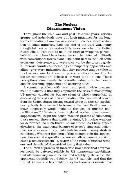 Deterrence in the Twenty-first Century