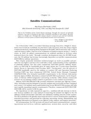 Chapter 14 - Satellite Communications - Air Force Link