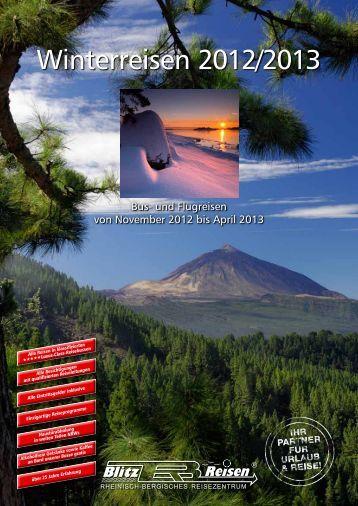 winterreisen 2012/2013 - Blitz-Reisen