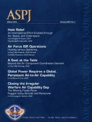 Downloads - Air and Space Power Journal - Air Force Link