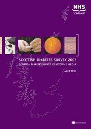 SCOTTISH DIABETES SURVEY 2002