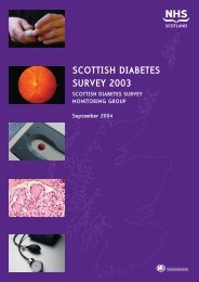 SCOTTISH DIABETES SURVEY 2003