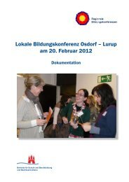 Lokale Bildungskonferenz Osdorf – Lurup am 20 ... - Unser Lurup