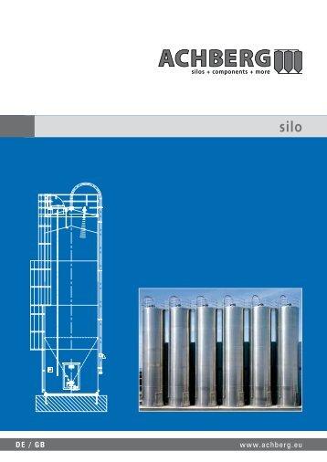 mit Chargentrennung silo for - Siloanlagen Achberg GmbH