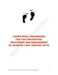 patient groups in diabetes foot care - Diabetes in Scotland