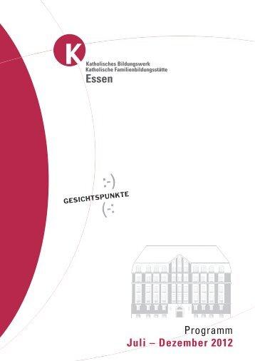 September 2012 - Katholische Erwachsenen- und Familienbildung ...