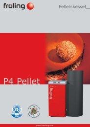 Prospekt Pelletskessel P4 - Allotherm