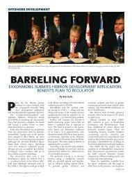 BARRELING FORWARD - Atlantic Business Magazine
