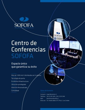 Centro de Conferencias SOFOFA