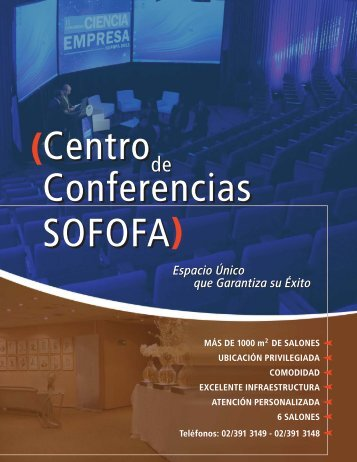 Conferencias SOFOFA