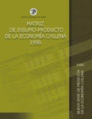 Matriz de Insumo Producto de la Economía Chilena 1996
