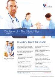 Cholesterol – The Silent Killer