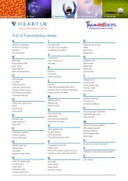 A-Z of Fundraising ideas!