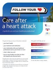 Care after a heart attack