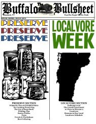 PRESERVE SECTION LOCALVORE SECTION