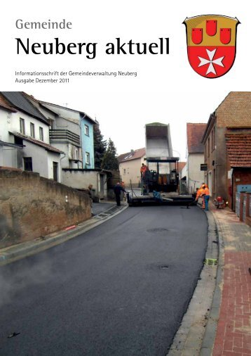 NEUBERG aktuell, Ausgabe 12/2011 - Gemeinde Neuberg