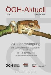 Program of the Annual meeting of the Austrian - VipersGarden