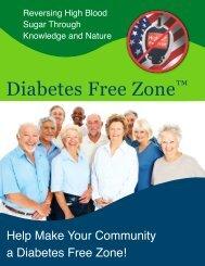 Diabetes Free Zone