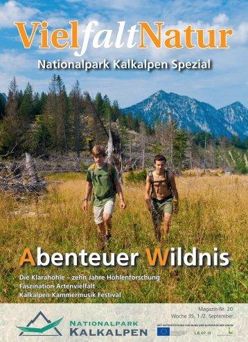 schützt Oberösterreichs Tier- und Pflanzenvielfalt - Nationalpark ...