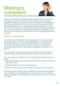 Making a complaint - Page 3