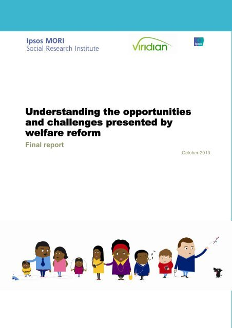 Understanding the opportunities and challenges presented by welfare reform