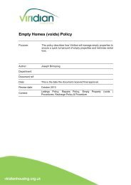 Empty Homes (voids) Policy
