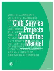 Projects Committee Manual