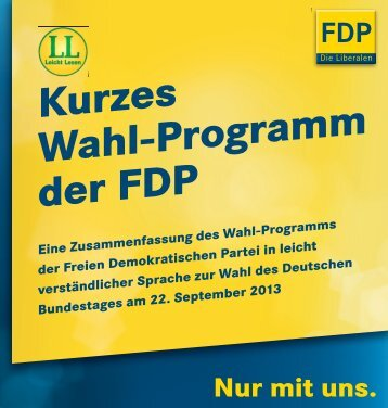 Wahl-Programm