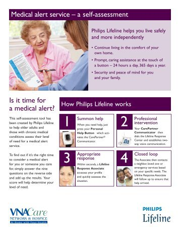 Medical alert service - VNA Care Network