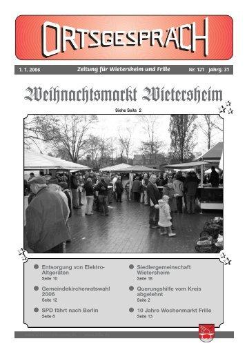 1. Quartal 2006 - Wietersheim