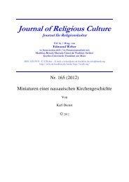 relkultur165.pdf - Goethe-Universität