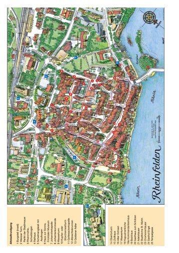 Altstadtrundgang 1 Burgstell (Inseli) 2 W eisser Turm, Relikt der ...
