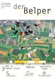 9 Bunt Dorf 19 Natur - Der Belper