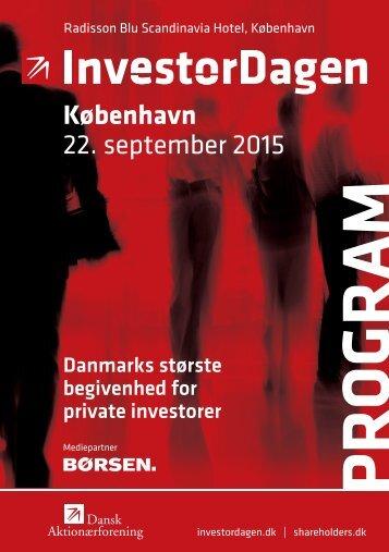 København 22 september 2015