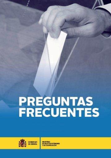PREGUNTAS FRECUENTES ELECCIONES AL PARLAMENTO DE CATALUÑA 2015