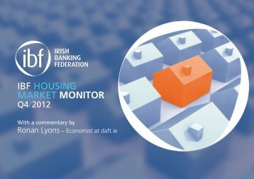 IBF HOUSING MARKET MONITOR