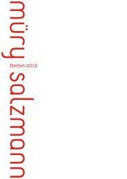 Eine unvollendete Biografie - Müry Salzmann Verlag