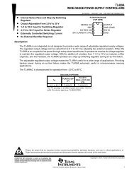 TL499A WIDE-RANGE POWER-SUPPLY CONTROLLERS