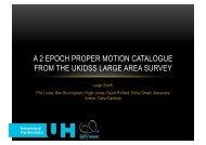 A 2 EPOCH PROPER MOTION CATALOGUE FROM THE UKIDSS LARGE AREA SURVEY