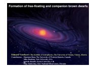 Formation of free-floating and companion brown dwarfs