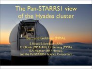 The Pan-STARRS1 view of the Hyades cluster
