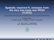 Spatially resolved H emission from the very low-mass star IRS54 (YLW52)