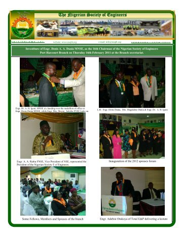 The Nigerian Society of Engineers