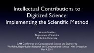Intellectual Contributions to Digitized Science - Stanford University
