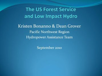 Kristen Bonanno & Dean Grover
