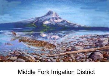 Middle Fork Irrigation District